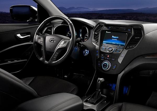 Hyundai Santa Fe İç Mekan
