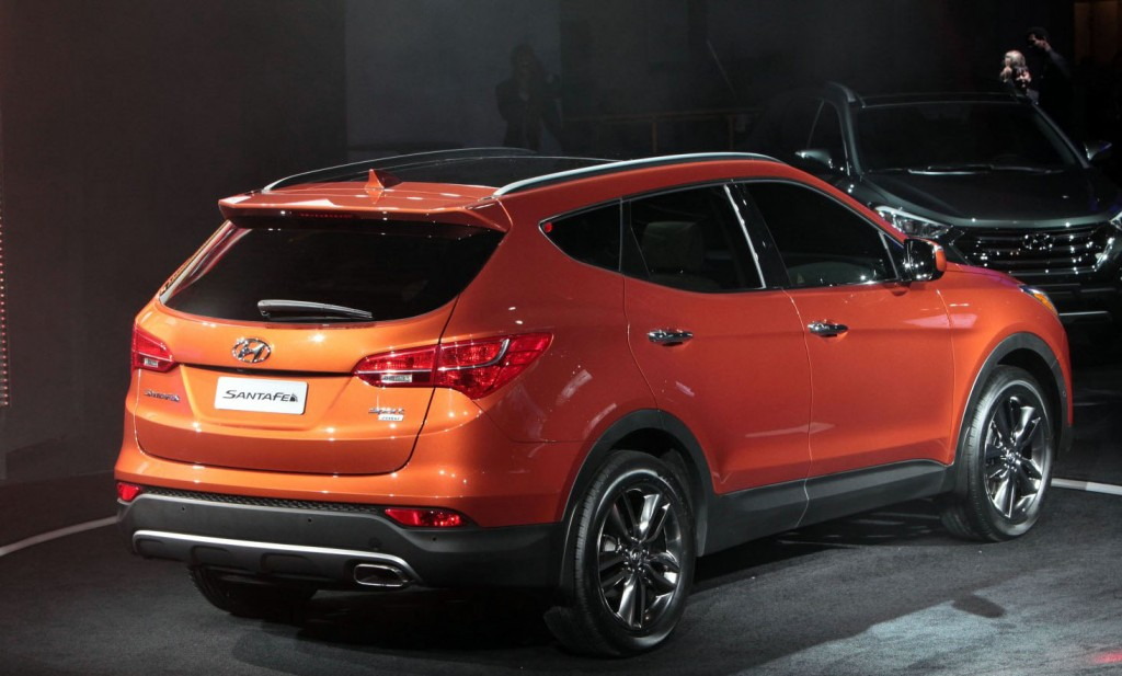 2013 Hyundai Sante Fe & Sante Fe Sport World Debut