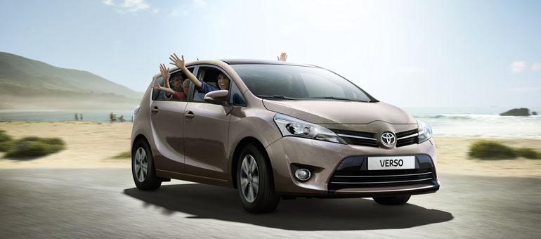 Yenilenen Toyota Verso 2014 Fiyatları