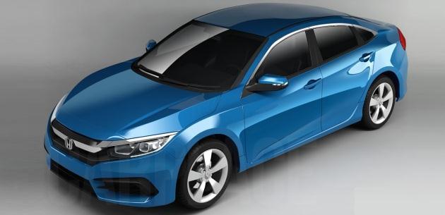 2016 model honda civic sedan dizel