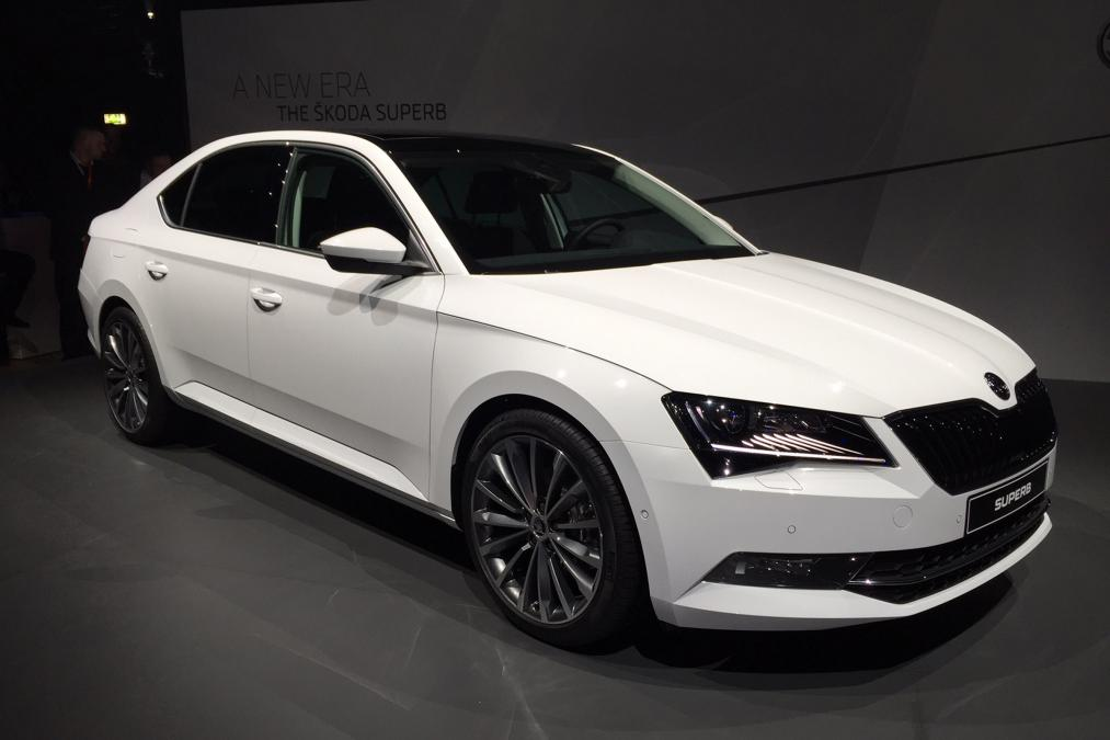 2016 skoda superb greenline
