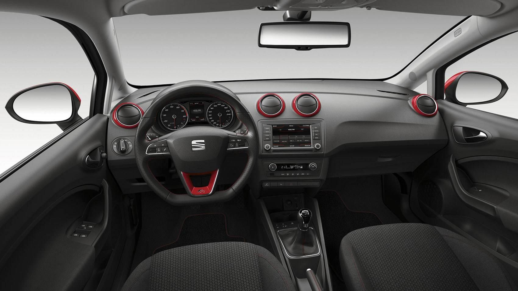 2015 Seat Ibiza İç Mekan Tasarımı