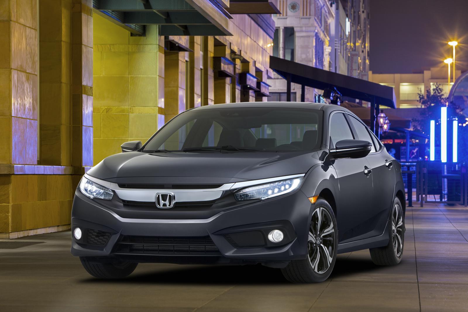 2016 Honda Civic Sedan Modeli