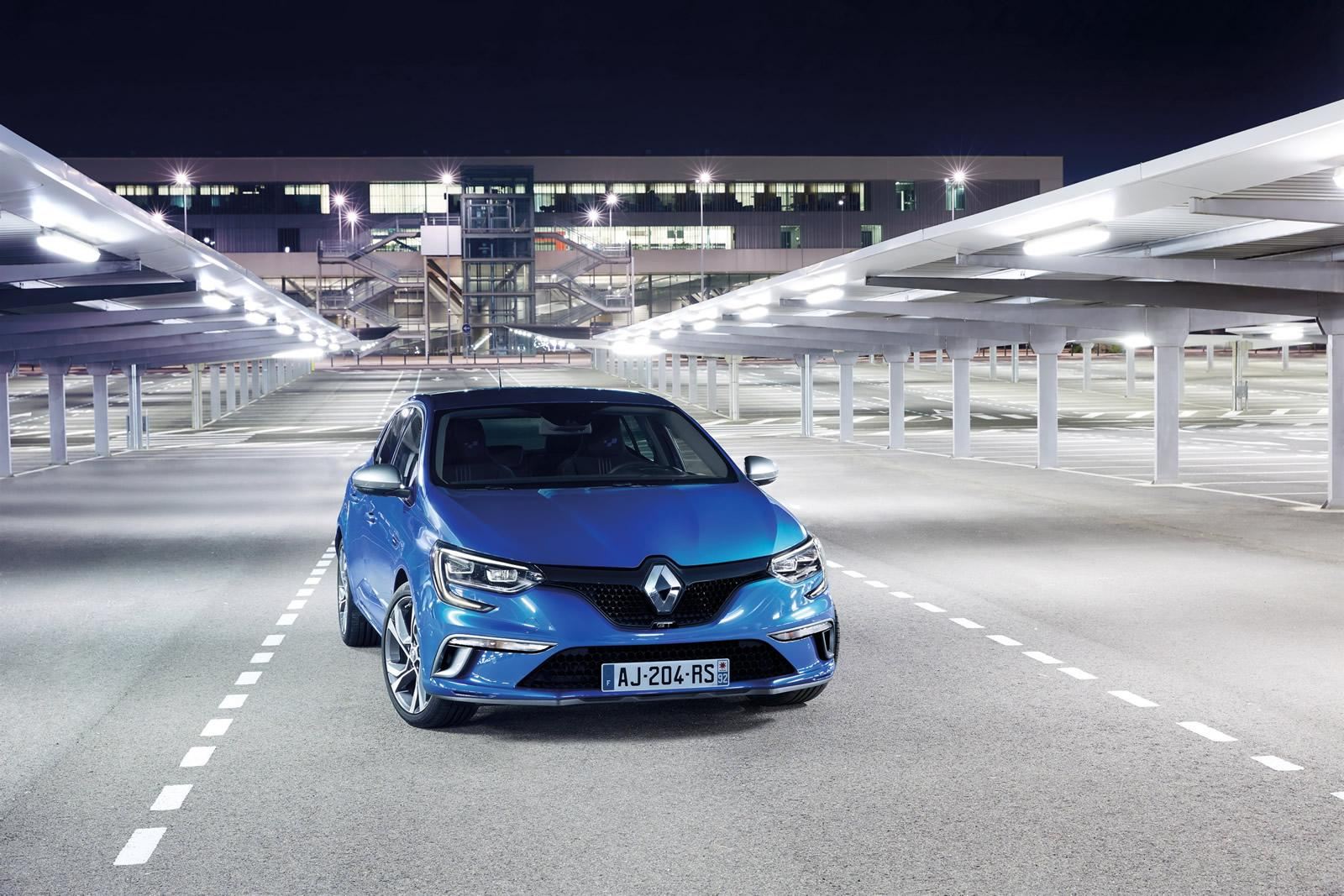 2016 Model Renault Megane