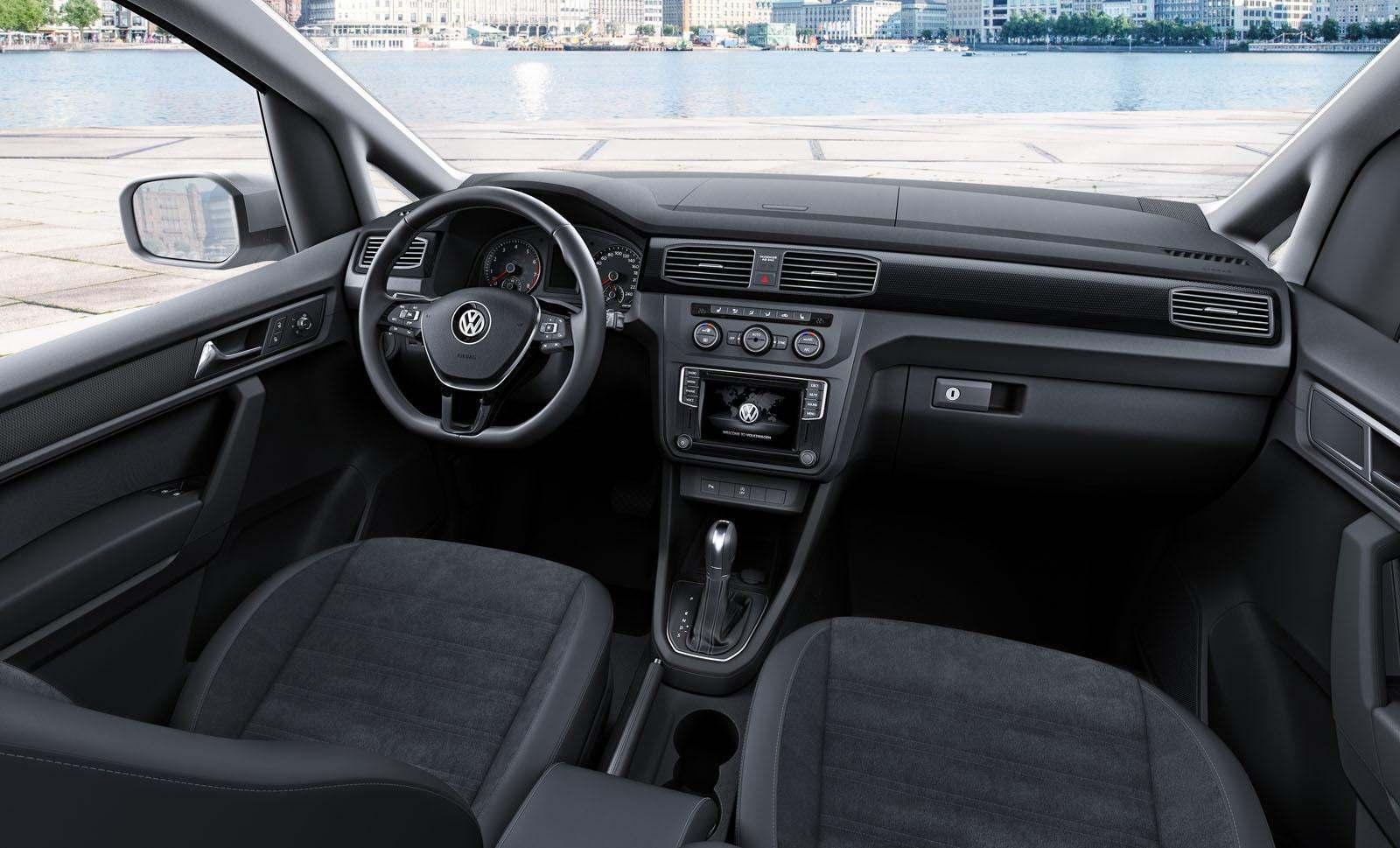 Yeni VW Caddy İç Mekan Tasarımı