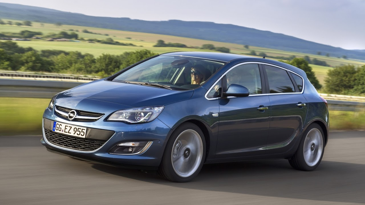 2015 Opel Astra HB