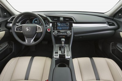 2016 Honda Civic İç Detay