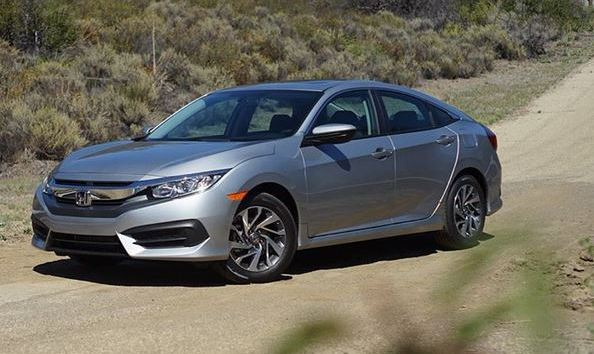 2016 Honda Civic Sedan Gri