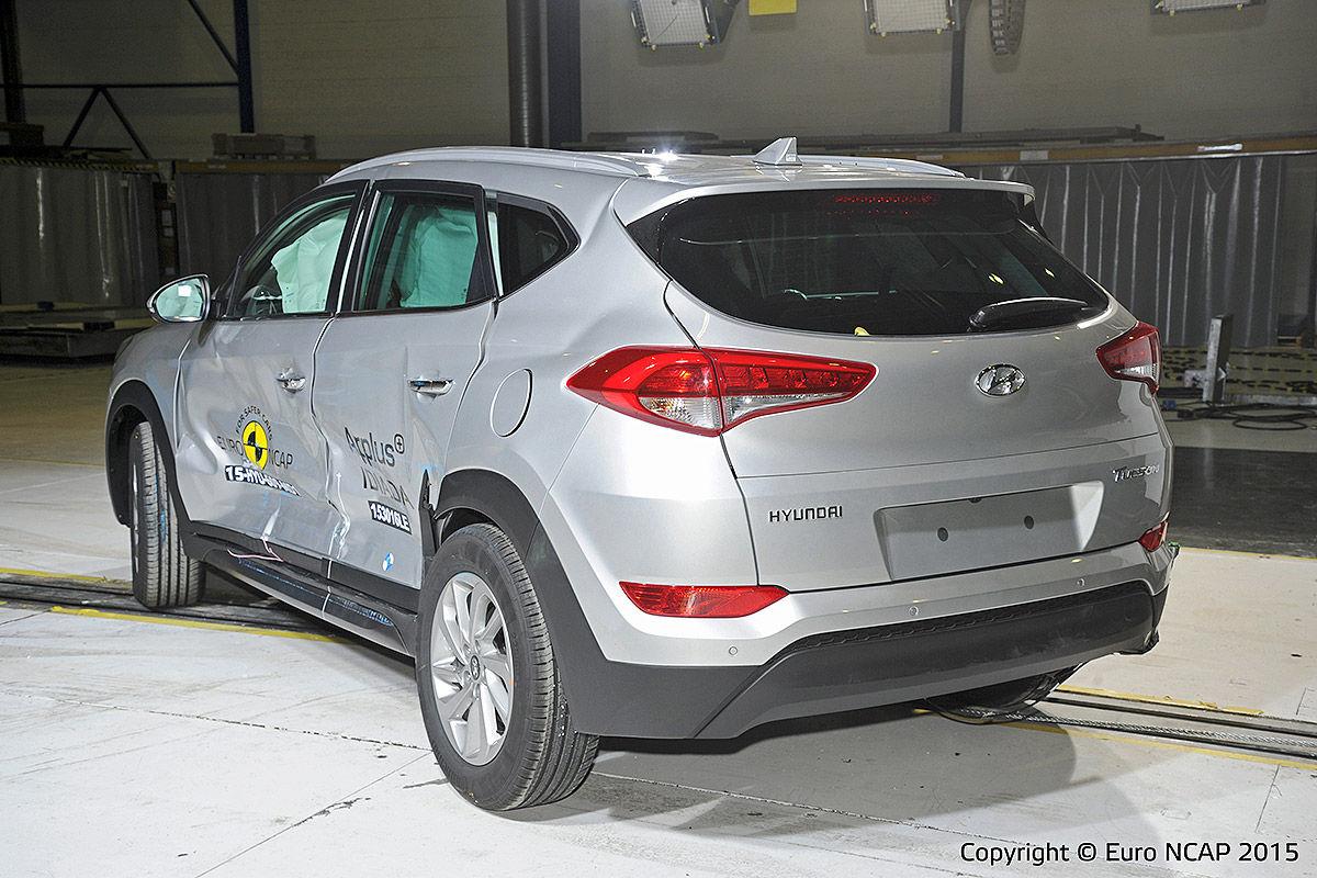 Euro NCAP Hyundai Tucson Testi