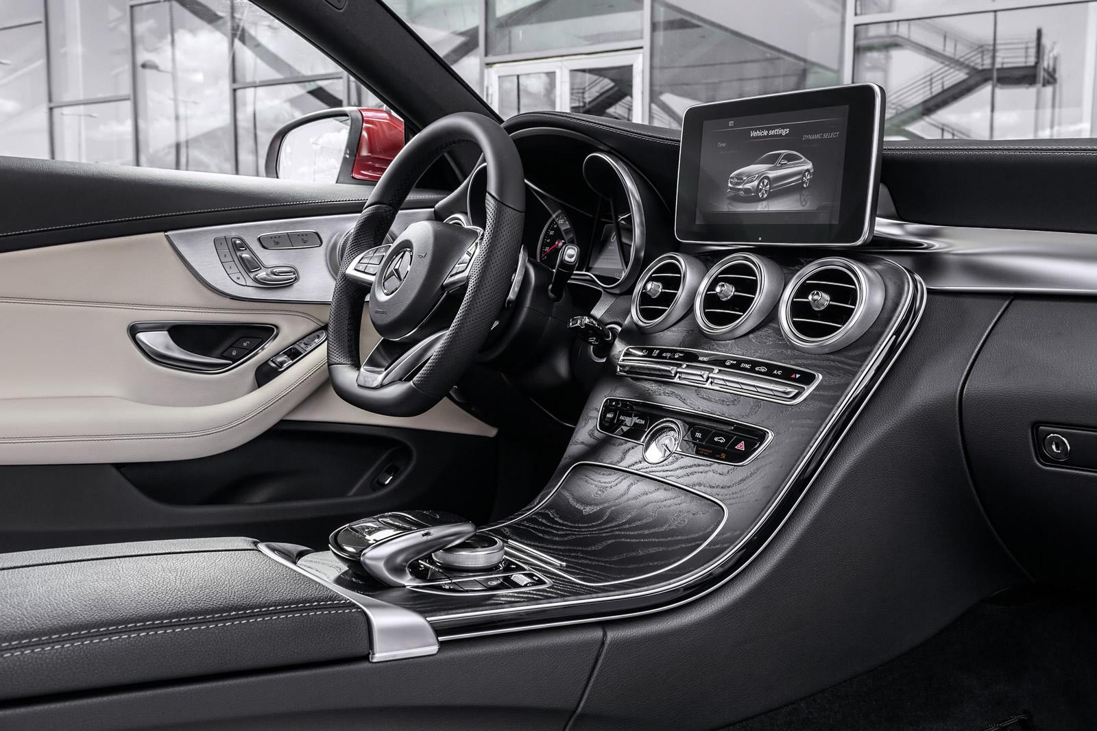 2016 Mercedes C 180 Coupe Sport