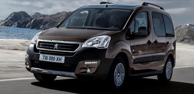 2016 Peugeot Partner Tepee