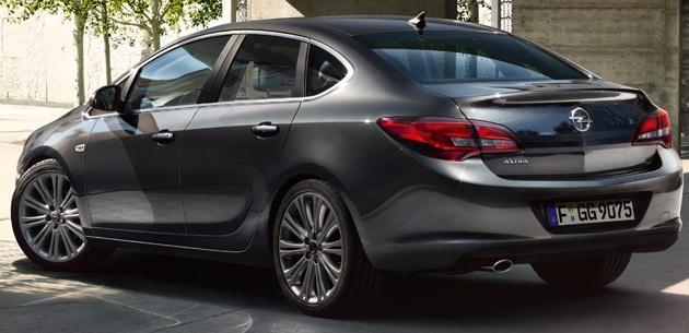 2016 Opel Astra Sedan