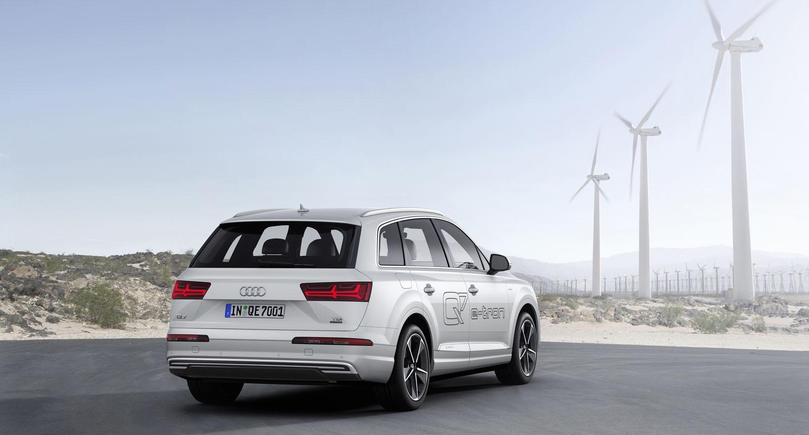 Yeni Audi Q7 E-Tron