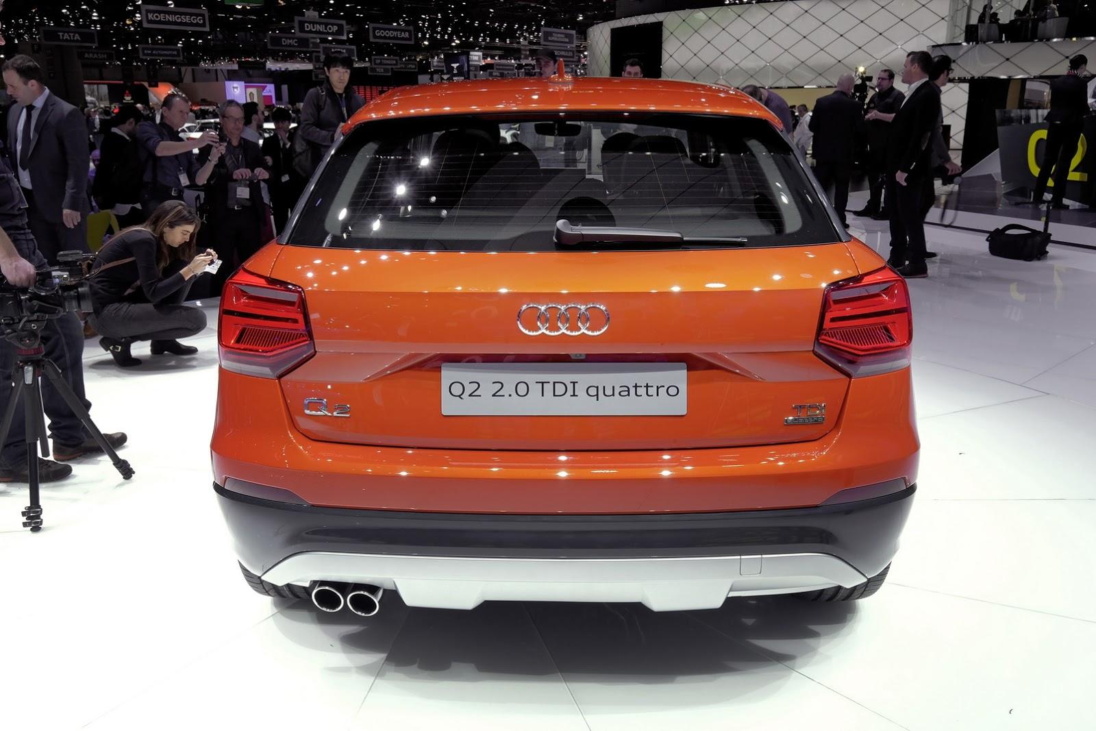 Audi Q2 Mini Suv
