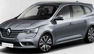 2016 Model Renault Scenic