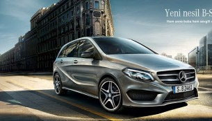 Yeni Mercedes Benz B Serisi Modelleri