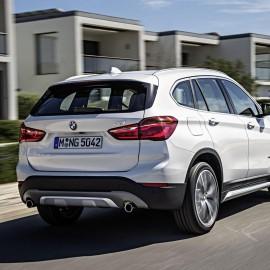 Yeni BMW X1 Arkadan Görünümü